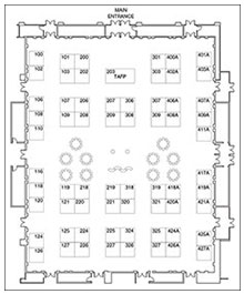 2014 assa exhibit map