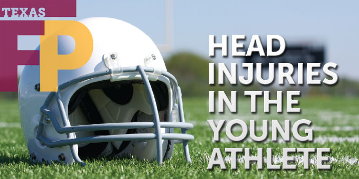 Public health: head injuries in the young athlete